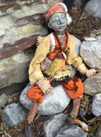 Table Top Puppet, for Lady of Shallot's series, a moment before flight