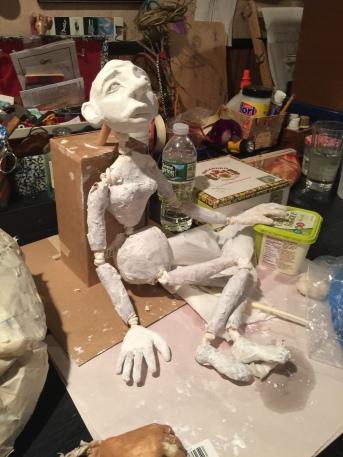 Puppet in Progress